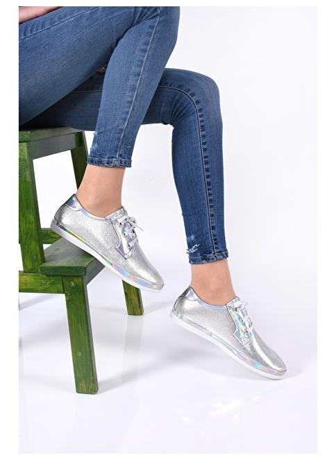 Sapin Günlük Ayakkabı Gümüş